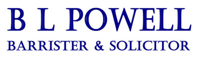 B L Powell Barrister & Solicitor
